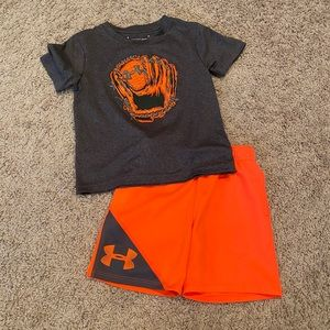 Toddler Under Armour Baseball Outfit Size 3T